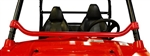 DRAGONFIRE RACING RACEPACE DASH BAR BRACE | POLARIS RZR 800 | RZR S | RZR 4 | XP 900 | XP4 | 570 | XP 4 | SPORTSMAN ACE | SPORTSMAN ACE 570 | BLACK | RED | ACCESSORIES | FRONT | ADRENALINE JUNKEE | AJ