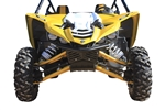 Dragonfire Racing | RacePace | Front Bumper | 01-5100 | Black | Yamaha YXZ 1000R | 2016 | Steel Construction | Powder Coated | Race Inspired | Light Weight | Billet End Caps | Adrenaline Junkee | AJ
