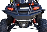 DragonFire Racing RockSolid Rear Bumper | Black | Powder Coat | 2011 2012 2013 2014 2015 2016 | Polaris RZR XP 900 | RZR XP4 900 | Arctic Cat Wildcat 700 Trail | 700 Sport | Adrenaline Junkee | AJ
