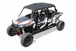 Dragonfire Racing Sun Top Canvas Roof | Polaris RZR XP4 1000 | RZR 4 900 | Black | Solid Mounting Attachment Points | Heavy Duty | Canvas Material