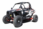 Dragonfire Racing Half Door Insert with Anti-Rattle Kit | Polaris RZR XP 1000 | Aftermarket | Textured Black | Aircraft Grade Aluminum