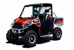 Dragonfire Racing ReadyForce Suicide HiBoy Doors | Polaris Ranger XP 900 | 570 Full Size | Diesel | Crew 900 | Slam Latch | Black | UTV Accessories | Parts | Protection | Steel Tubing Frame | Adrenaline Junkee AJ
