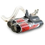 Big Gun Evo Sport Utility Series Dual Slip On Exhaust | Aftermarket | UTV Parts | Accessories | Performance | 2008 2009 2010 2011 Kawasaki Teryx 750 | Adrenaline Junkee | AJ