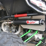 Big Gun Exhaust | Black | Stainless Steel | Evo U Series Slip-On Exhaust | 2012-2014 Arctic Cat Wildcat 1000 | Wildcat 1000X
