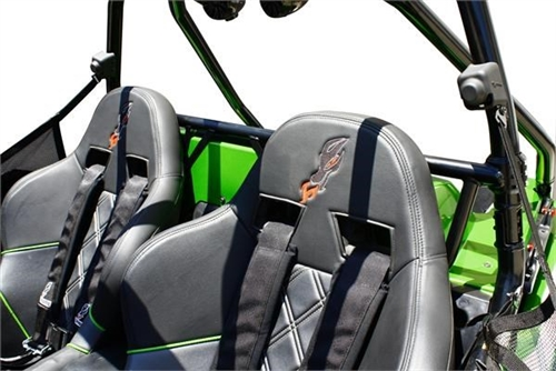 Dragonfire Racing LockDown Harness Bar Black for Textron WILDCAT TRAIL 700 2018