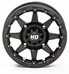 STI HD5 Beadlock Wheels | Aftermarket | Black | Machined | Colored Bead Rings | Polaris RZR | Ranger | Yamaha YXZ1000 | Rhino | Viking | Can Am Maverick | Commander | Kawasaki Teryx | Arctic Cat Wildcat | Adrenaline Junkee | AJ