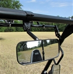 "Seizmik | Rear View Mirror | Wide Angle | Kubota | Can-Am Commander | Can-Am Maverick | High-impact plastic housing | Designed to fit 2"" Clamps 