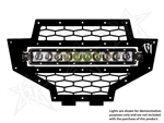 Rigid Industries RZR LED Grille | 2012-2013 Polaris RZR XP 900 | XP4 900 | 800 | RZR-S | RZR-4 | Aftermarket | UTV Accessories | Lighting | Electrical | Adrenaline Junkee | AJ