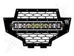 Rigid Industries RZR LED Grille w/ Light Bar | 2012-2013 Polaris RZR XP 900 | XP4 900 | 800 | RZR-S | RZR-4 | Single Row | LED LIght Bar | 3200 Lumens | Aftermarket | UTV Accessories | Lighting | Electrical | Adrenaline Junkee | AJ