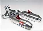YOSHIMURA UTV SIGNATURE SERIES RS-2 FULL DUAL EXHAUST | 2008-2013 YAMAHA RHINO 700