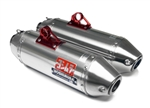 YOSHIMURA SIGNATURE SERIES RS-2 STAINLESS STEEL SLIP ON DUAL EXHAUST SYSTEM | 2012-2013 KAWASAKI TERYX-4 750 | 347002F550 | PERFORMANCE | UTV | AFTERMARKET PARTS | ADRENALINE JUNKEE | AJ
