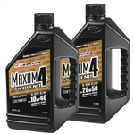 MAXIMA MAXUM4 SYNTHETIC BLEND OIL | UTV PARTS | ACCESSORIES | AFTERMARKET | CHEMICAL | POLARIS RZR | RANGER | CAN-AM COMMANDER | MAVERICK | GATOR | KAWASAKI TERYX 4 | YAMAHA RHINO | ARCTIC CAT PROWLER | WILDCAT | MULE | ADRENALINE JUNKEE | AJ