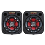 Kolpin UTV Speaker Cube for Polaris RZR | Ranger | Yamaha Rhino | Kawasaki Teryx | Mule | Can-Am Commander | Arctic Cat Prowler | Wildcat