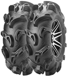 ITP Monster Mayhem Mud Tire and Wheel Package | 14 Inch | MotoSport Alloy | Mud Tire | Polaris RZR | Ranger | Can Am Maverick | Commander | Arctic Cat Prowler | Kawasaki Teryx | Yamaha Rhino | Viking