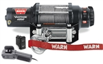 Warn Vantage 4000 Winch | 55' Wire Rope | Aftermarket | UTV Accessories | Polaris RZR | Ranger | Arctic Cat Wildcat | Prowler | Can Am Commander | Maverick | Kawasaki Teryx | Mule | Yamaha Rhino | Viking