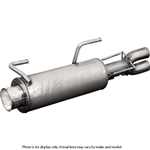 Gibson Exhaust | Satin Stainless | Slip-On Exhaust | 2009-2010 Polaris Ranger XP 700