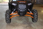 "High Clearance Front A-Arms | 2014 Polaris RZR XP 1000 | RZR XP4 1000 | Aftermarket | Heavy Duty | UTV Parts | Red | Orange | 1-1/4"" Thick Walls 