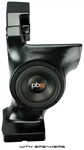 "SSV WORKS SUB BOX FOR 10"" WOOFER WITH OR WITHOUT WOOFER FOR CAN-AM COMMANDER 