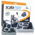 Cardo Scala Q2 PRO | Communication | MultiSet | Single Set | Bluetooth | Wireless Headset | UTV Accessories | Aftermarket | Polaris RZR | Ranger | Can Am Commander | Maverick | Arctic Cat Wildcat | Kawasaki Teryx | Yamaha Rhino | Adrenaline Junkee | AJ