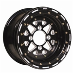 DWT Sector Revolutionary 3-Piece Wheel Kit | Aftermarket | 12 Inch | 14 Inch | UTV Accessories | Aluminum | .190 | 6061