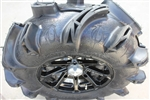 EFX MotoMonster Tire & MSA Wheel Package | 14 Inch | MotoSport Alloy | Deep Mud UTV Tire | Polaris RZR | Ranger | Can Am Maverick | Commander | Arctic Cat Prowler | Kawasaki Teryx | Yamaha Rhino | Viking