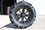 EFX Moto MTC Tire & MSA Wheel Package | 14 Inch | MotoSport Alloy | All Terrain UTV Tire | Polaris RZR | Ranger | Can Am Maverick | Commander | Arctic Cat Prowler | Kawasaki Teryx | Yamaha Rhino | Viking