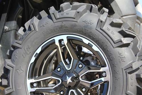 Polaris Ranger Xp 900 >> EFX Moto MTC Tire & MSA Wheel Package | 15 Inch | MotoSport Alloy | All Terrain UTV Tire ...