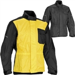 Firstgear Splash Jacket | Waterproof | Black | Yellow | Polaris RZR XP 900 | XP4 | 800 | RZR-S | RZR-4 | Can Am Commander | Maverick | Arctic Cat Wildcat | Prowler | Kawasaki Teryx 4 | Yamaha Rhino | Mule | Adrenaline Junkee | AJ