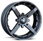 MotoSport Alloy M23 Battle Wheels | 12x7 | 14x7 | 14x10 | Aftermarket | Accessories | UTV Parts | Wide Offset | Polaris RZR | Ranger | Can Am Maverick | Commander | Arctic Cat Wildcat | Prowler | Kawasaki Teryx | Teryx-4 | Yamaha Rhino | Adrenaline Junkee