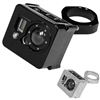 Modquad GoPro Camera Billet Case & UTV Mount | Aftermarket | Aluminum Mount | Black | Polished | UTV Accessories | Polaris RZR | Ranger | Can Am Maverick | Commander | Arctic Cat Wildcat | Kawasaki Teryx | Yamaha Rhino | Adrenaline Junkee | AJ