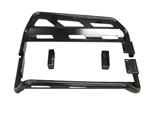 Rock Sliding Nerf Bars for 2008-2013 Polaris RZR 800 | RZR-S | RZR-570 | Aftermarket | Smooth Black | Sandy Black | UTV Accessories | Parts | Protection | 2008 2009 2010 2011 2012 2013 | Adrenaline Junkee | AJ