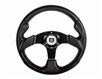 Pro Armor Force Steering Wheel | Black Suede | Aftermarket | 2008-2014 Polaris RZR XP 1000 | RZR XP4 1000 | XP 900 | XP4 900 | 800 | RZR-S | RZR-4 | 570 | UTV Parts | Accessories | 2008 2009 2010 2011 2012 2013 2014 | Adrenaline Junkee | AJ