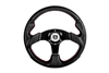Pro Armor Force Steering Wheel | Black with Black | 2008-2014 Polaris RZR XP 1000 | XP4 1000 | XP 900 | XP4 900 | 800 | RZR-S | RZR-4 | RZR-570 | Aftermarket | UTV Parts | UTV Accessories | 2008 2009 2010 2011 2012 2013 2014 | Adrenaline Junkee AJ