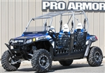 Pro Armor RZR XP4 900 & RZR 4 DOORS W/NETS - BLACK OR BRUSHED ALUMINUM
