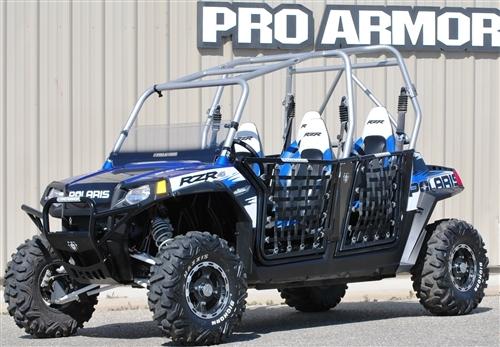 Alternative Views & Pro Armor RZR 4 Doors with Nets| Polaris RZR 900 XP4 Doors | RZR XP4 ...