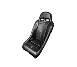 PRO ARMOR SNIPER XL SUSPENSION SEAT BLACK SEAT WITH BLACK PIPING AND STITCHING FOR POLARIS RZR S XP 4 900 XP4 800 570