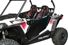 Pro Armor Black Aluminum Doors | Polaris RZR 900 | RZR-S 900 | RZR-XC 900 | Aluminum Construction | Direct Bolt-On | Automotive Grade Latch and Lever | Reverse Hinged | Adrenaline Junkee | AJ