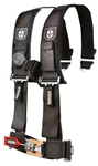 "PRO ARMOR 4 POINT 3X3"" HARNESS RESTRAINT IN BLACK OR RED"