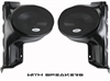 SSV WORKS FRONT KICK PANELS WITH OR WITHOUT SPEAKERS GEN 1 FOR POLARIS RANGER