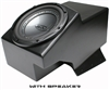 "SSV WORKS SUB BOX FOR 10"" WOOFER WITH OR WITHOUT WOOFER FOR GEN 2 POLARIS RANGER 