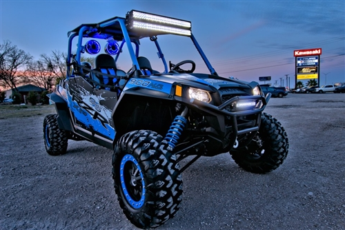 Rigid industries 30 sr series hybrid spotflood combo led light bar list price 79999 mozeypictures Image collections
