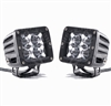 Rigid Industries Dually LED Light Set | Red Blue White Amber Accessories Aftermarket Spot Flood Lighting | Polaris RZR | Ranger | Can Am Commander | Maverick | Arctic Cat Wildcat | Prowler | Kawasaki Teryx | Yamaha Rhino | Mule | Adrenaline Junkee | AJ