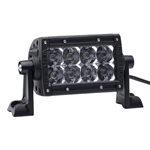 Rigid Industries E-Series 4 inch LED Light Bar | Aftermarket | Accessories | Spot | Flood | Lighting | Polaris RZR | Can Am Commander | Maverick | Arctic Cat Wildcat | Prowler | Kawasaki Teryx | Yamaha Rhino | Mule | Gator | Adrenaline Junkee | AJ