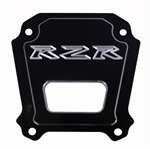 "ModQuad Billet Aluminum Rear Differential Plate | 2014 Polaris RZR XP 1000 | RZR XP4 1000 | Aftermarket | Polished | Black | Strengthens Rear End | UTV Parts | Accessories | 5/8"" Aluminum 