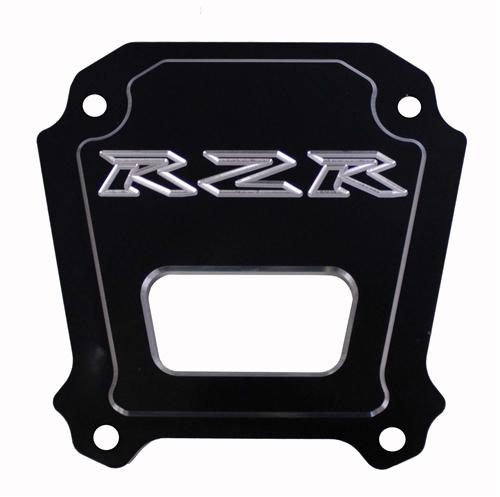 ModQuad RZR XP 1000 Polished Billet Aluminum Rear Differential Plate