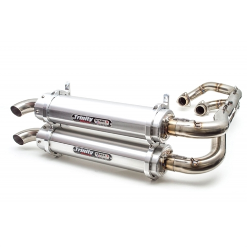 TRINITY RACING STAGE 5 DUAL EXHAUST | 2011-2014 POLARIS RZR XP 900