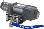 "KFI 4500 lb Winch | Aftermarket | 15/64"" Cable Rope 