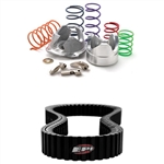 EPI SAND DUNE CLUTCH KIT WITH SEVERE DUTY DRIVE BELT 2009-2011 ARCTIC CAT PROWLER 700 FOR STOCK TIRES 0-3000' ELEVATION ADRENALINE JUNKEE AJ