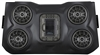 SSV Works Bluetooth iPod 4 Speaker Overhead Weatherproof Audio System | Aftermarket | Polaris RZR XP 1000 | Optional Plus 2 Speaker Add On | 100% Fiberglass casing