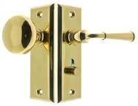 21260 Rectangular Escutcheon Storm Door Latch